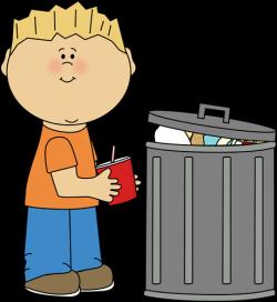trash clipart student