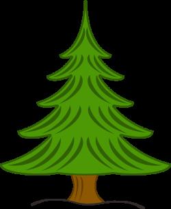 pine tree clipart cute