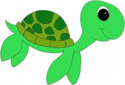turtle clipart sea