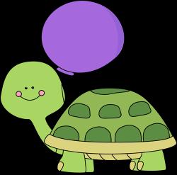 turtle clipart purple