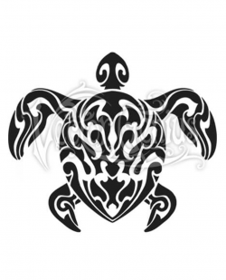 turtle logo tribal