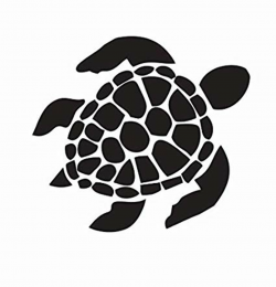turtle logo black