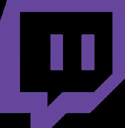 twitch logo png blue