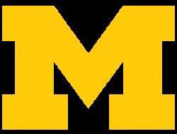 u of m logo transparent