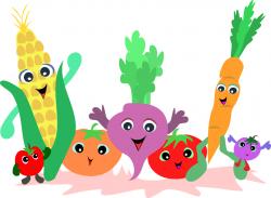 vegetables clipart cute