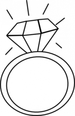 ring clipart diamond