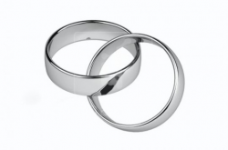 wedding rings clipart silver