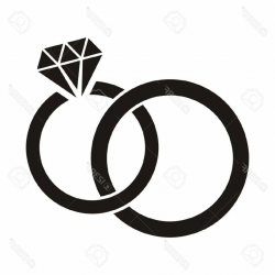wedding rings clipart printable