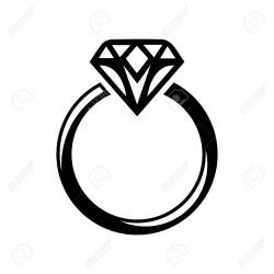 diamond clipart silhouette