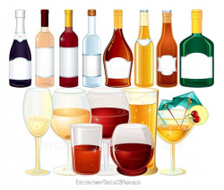 alcohol clipart cocktail