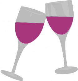 alcohol clipart pink