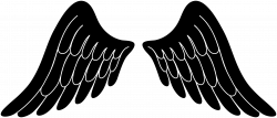 wings clipart outline