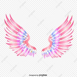 wings clipart colorful