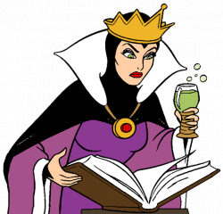 witch clipart snow white