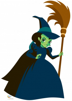 witch clipart wicked
